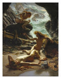 Cave of the Storm Nymphs, 1903 Prints by Edward John Poynter
