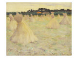 Haystacks, c.1896 Giclee Print by Eanger Irving Couse