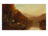 Shawanagunk Mountains, Autumn, 1863 Giclee Print by Jervis Mcentee