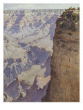 The Grand Canyon of Arizona Reproduction procédé giclée par Gunnar Widforss