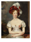 Portrait of Marie-Caroline, Duchesse de Berry, c.1825 Prints by Thomas Lawrence