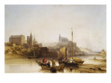 Blois on the Loire, 1840 Giclee Print by William Callow