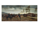 The Surrender of the French Army at Metz, Ubergabe Von Metz, 1876 Giclee Print by Conrad Freyberg