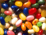 Close Up Jelly Beans Carbohydrate Sweets Photographic Print