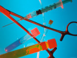 Still Life Medical Icon Medical Instruments Photographie