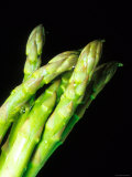 Close Up of Asparagus Tips Photographic Print