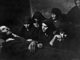Women Mourning at Wake of Juan Larra Premium Photographic Print by W. Eugene Smith