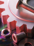 Nuts Bolts Gear Conceptual Industry - Still Life Photographic Print