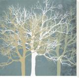 Tranquil Trees Leinwand von Erin Clark