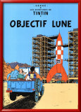Objectif Lune (1953) Affiches par Herg&#233; (Georges R&#233;mi) 