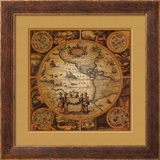 Antique Map, Cartographica II Prints