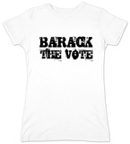 Juniors: Barack Obama - Barack the Vote Shirt