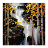 Waterfall Print by Michael O'Toole