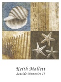 Seaside Memories II Posters by Keith Mallett