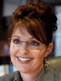 Sarah Palin, Anchorage, Alaska Photographic Print