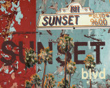 New Sunset Blvd Posters av M.J. Lew