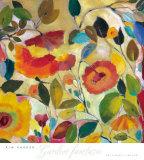 Garden Fantasie Kunstdrucke von Kim Parker