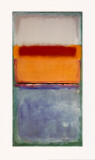 No. 10 Posters par Mark Rothko