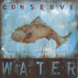 Conserve Water Prints by Wani Pasion