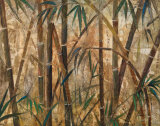 Bamboo Forest I Art by Judeen