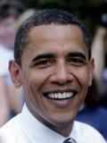 Barack Obama, Concord, NH Fotografisk tryk