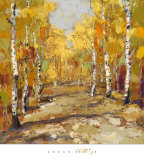 Aspen Gold II Art by Rong Gang
