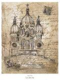 Sacre-Coeur Art by Elizabeth Jardine
