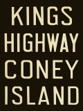 Kings Highway and Coney Island Affiches