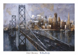 The Bay Bridge Affiches par Marti Bofarull