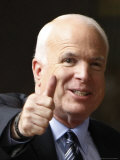 John McCain Thumbs Up, Arlington, VA Photographic Print