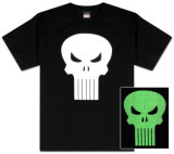 Youth: The Punisher - Glow Head T-shirts