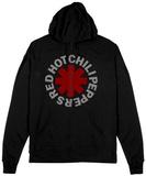 Zip Hoodie: Red Hot Chili Peppers- Asterisk Hettejakke