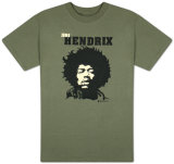 Jimi Hendrix - Close Up Tshirts