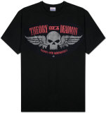 Theory of a Deadman - Skull Wings T-paidat
