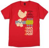 ウッドストック - アップステート '69 Tシャツ