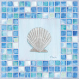 Mosaic Scallop Posters by Paul Brent