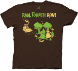 Tee Hugger - Run, Forest, Run! Shirts