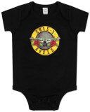Infant: Guns N Roses - Bullet Logo Bodysuit Bodystocking til babyer