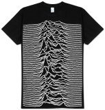 Joy Division - Unknown Pleasures Large T-Shirts