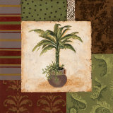 Potted Palm II Posters by Pamela Desgrosellier