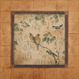 Outdoor Aviary II Print by Pamela Gladding