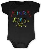 Infant: Metallica - Crayon Onesie ロンパース