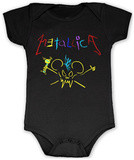 Infant: Metallica- Crayon Onsie Infant Onesie