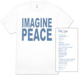 John Lennon - Imagine Peace T-shirts