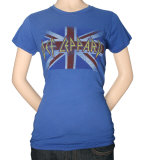 Juniors: Def Leppard - Union T-Shirt