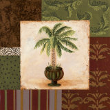 Potted Palm I Prints by Pamela Desgrosellier