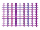 Purple Design, no. 45 Print by  Avalisa