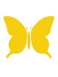 Large Yellow Butterfly Posters by  Avalisa
