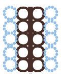 Blue and Brown Design Posters par  Avalisa