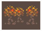 Brown Orange Wonder Prints by  Avalisa